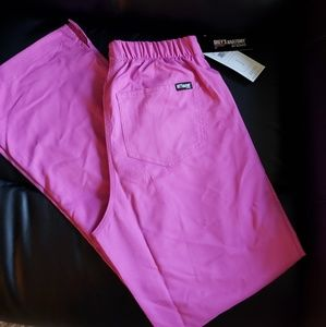 Grey's anatomy scrub pants size xxs